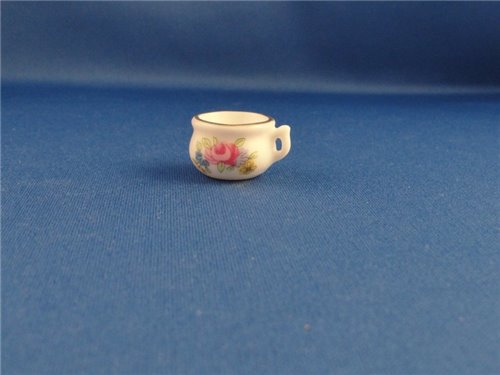 Badkamer Accessoires Roze : Badkamer accessoires pispotje met roze roos