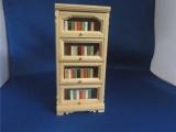 Boekenkast met boeken modern