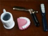 set beker gebit scheermes tandeborst